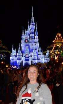 Laura at Disney